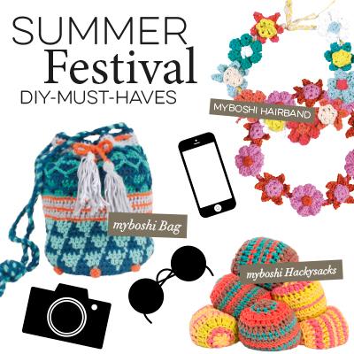 Deine Must-Haves für den Festival Sommer
