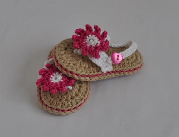 Baby sandalen häkeln anleitung kostenlos