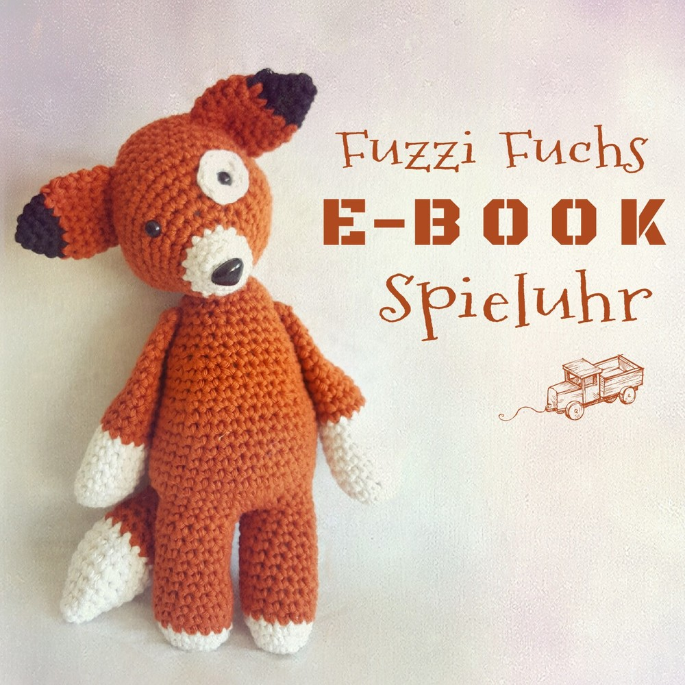 amigurumi h kelanleitung spieluhr fuzzi fuchs. Black Bedroom Furniture Sets. Home Design Ideas