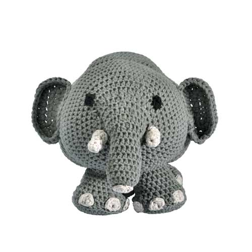 h kelanleitung kuscheltier elefant h keln. Black Bedroom Furniture Sets. Home Design Ideas
