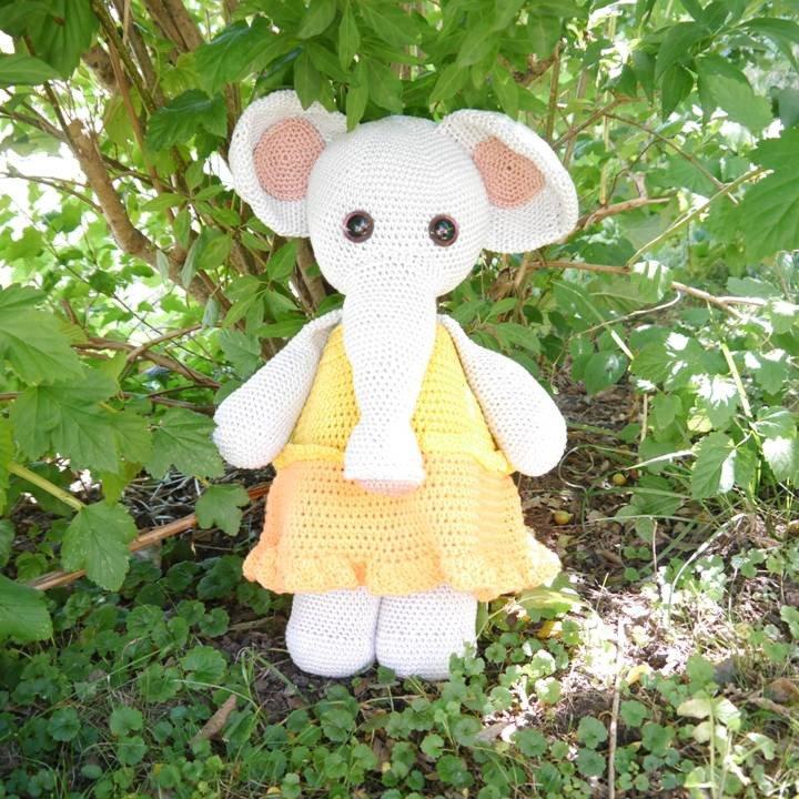 Amigurumi Xxl Elefant : Elefant XXL Amigurumi