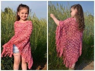 Leomaxi Crochet Rosalie Poncho Für Alle Größen Perfekt Für