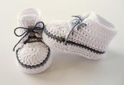 baby turnschuhe h kelanleitung gut verst ndlich erkl rt. Black Bedroom Furniture Sets. Home Design Ideas