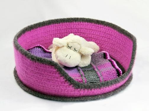 Filzkörbchen für Ihr Haustier