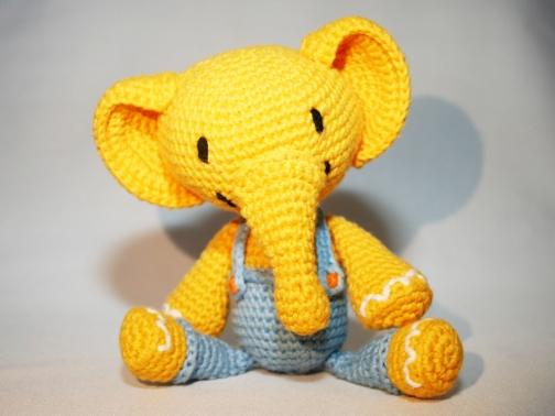 Amigurumi Xxl Elefant : Elefant - PDF Hakelanleitung