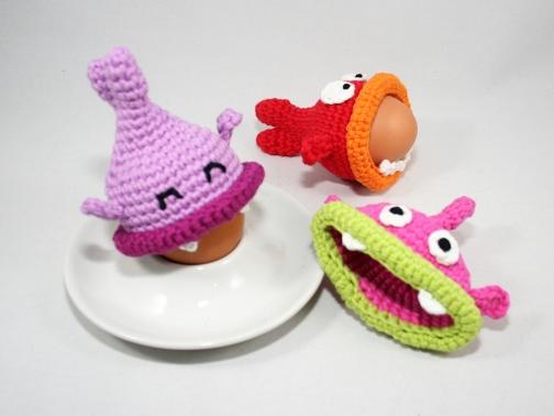 Eierwärmer - Hungrige Fische