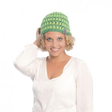 Häkelanleitung für sommerliche Mütze Hikone