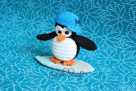 Häkelanleitung Pinguin Maurice