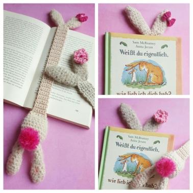 Lesezeichen kleiner Hase