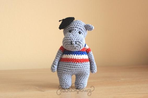 Häkelanleitung Hippo Pierre