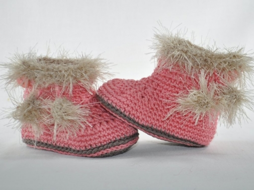 Babystiefel Booties Eskimo