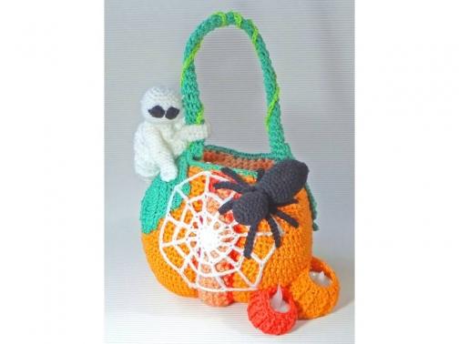 Halloween Korb Deluxe - Süßes oder Saures?