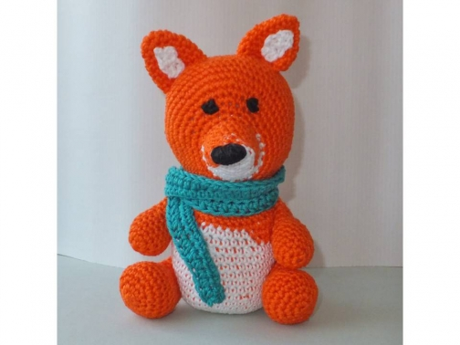 Fuchs zum Häkeln - Amigurumi süß und einfach