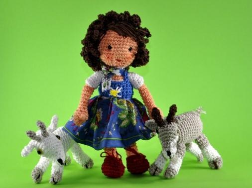 Puppe Heidi