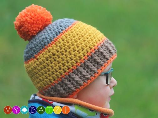 Mütze häkeln - Häkelanleitung für eine Jungenmütze