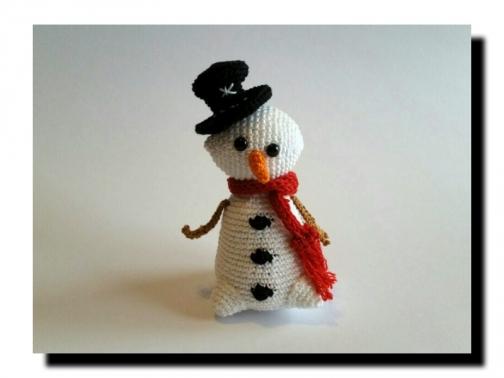 WinterWinzling Snow - Häkelanleitung