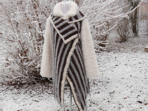Longweste zum Häkeln - Mode