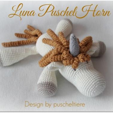 Häkelanleitung Luna PuschelHorn