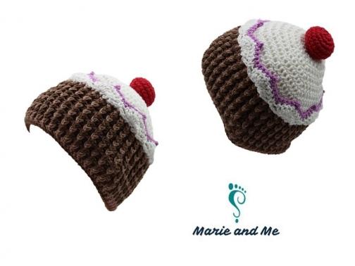 Cupcake Mütze