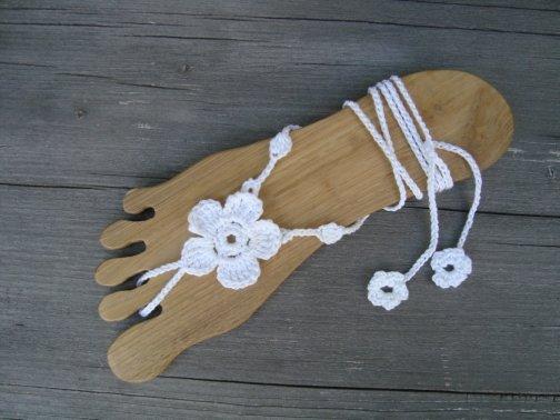 Barfuß Sandalen BFS 1707 - Blume