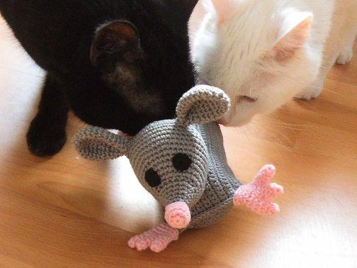 Katzen-Ratte (Katzenspielzeug)