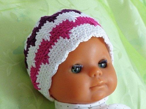 "Babybeanie ""Emma"" 0-12 Monate"
