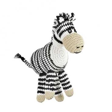 Häkelanleitung für Zebra Emma