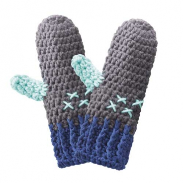 Häkelanleitung für Handschuhe Zama