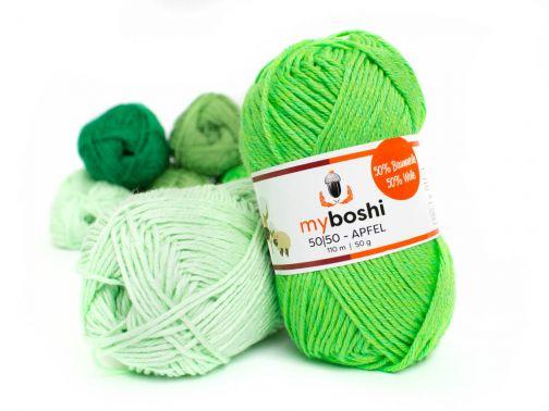 myboshi 50|50 –30 Farben– apfel
