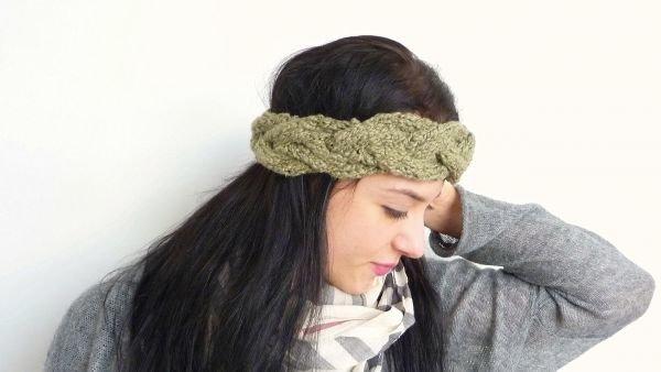 (108) Headband Strick - Stirnband