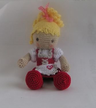 Häkelanleitung Puppe Resi