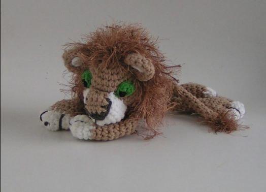 Häkelanleitung Löwe Simba Amigurumi