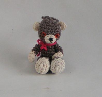 Häkelanleitung Amigurumi Taschenbaumler Teddy