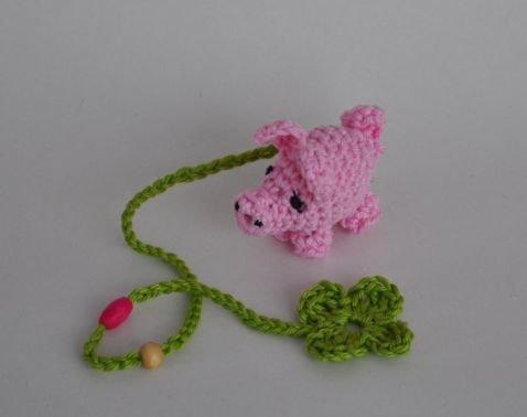 Häkelanleitung Glücksschwein Amigurumi