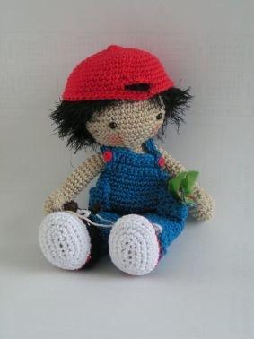 Häkelanleitung Puppe Benny