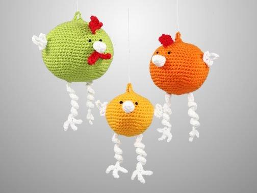 Hühner zum Aufhängen - 3 Größen