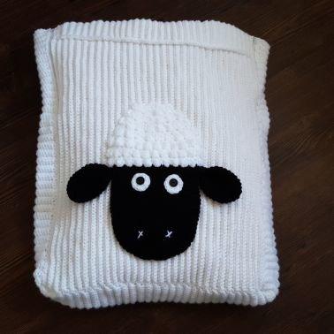 Häkelanleitung Fußsack Schaf Baby und Kleinkind