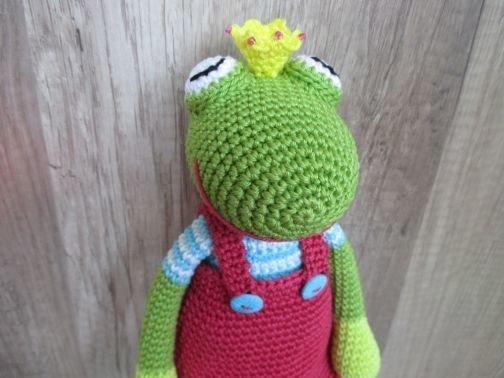 Häkelanleitung für Finnie Frosch
