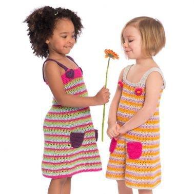 Häkelanleitung für Kinderkleid Minato