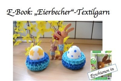 "Ebook: ""Eierbecher"" Textilgarn"