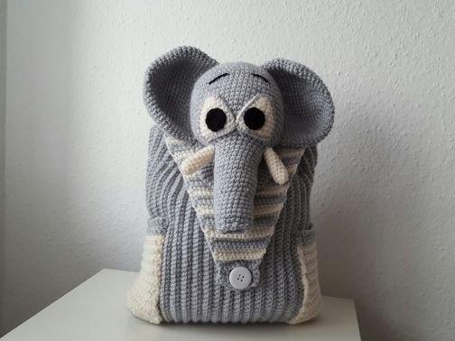 Häkelanleitung Rucksack Elefant pdf
