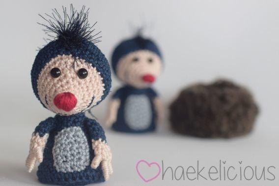 Haekelicious Mini-Maulwurf
