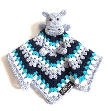 Hippo-Schnuffeltuch