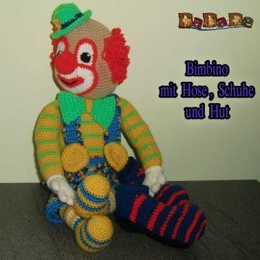 der Clown Bimbino, die Kuschel Puppe für alle Kinder