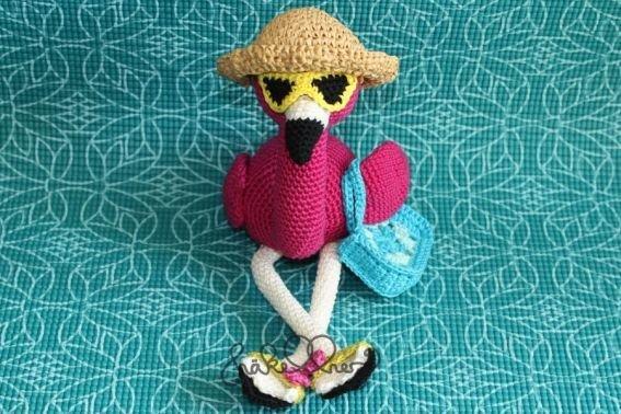 Häkelanleitung Flamingo Birdy