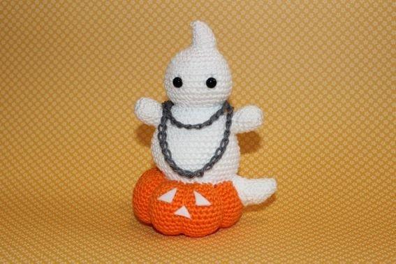 Häkelanleitung Halloweengeist - Louis