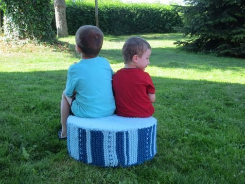 Strickanleitung Boden-Sitzkissen