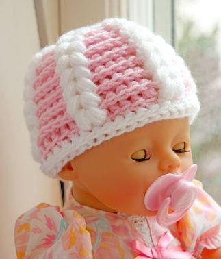 Häkelanleitung-Babymütze, Kleinkindmütze, Neugeborenenmütze.