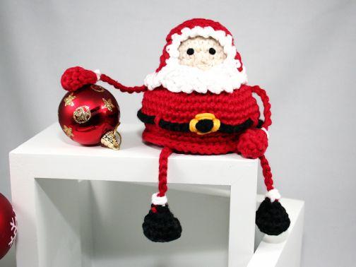 Weihnachtsmann, Nikolaus - Amigurumi - Häkelanleitung
