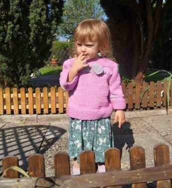 Strickanleitung Kinderpulli unisize Herbstkollektion No.2